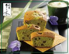 「祇園さゝ木」パウンドケーキ 抹茶あずきの画像