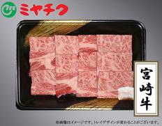 宮崎牛肩ロース焼肉 250gの画像