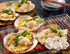北海道 帆立バター焼きセットの画像