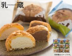「乳蔵」北海道シューセットの画像