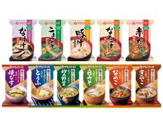 【メール便】アマノフーズ フリーズドライ 化学調味料 無添加・味わう おみそ汁 11種類11食セットの画像