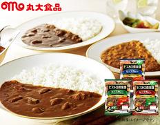 ビストロ倶楽部ビーフカレー詰合せ32食(中辛、辛口、甘口)の画像