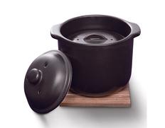 萬古焼 電子レンジ炊飯器の画像