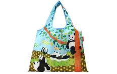 2WAYショッピングバッグ パンダの午後の画像