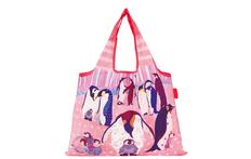 2WAYショッピングバッグ ペンギンの集会の画像