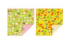今治ハンカチ2P 和菓子+折り紙の画像