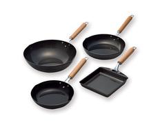 炒め鍋&フライパン&玉子焼4点セットの画像