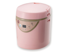 ミニライスクッカー ピンクの画像