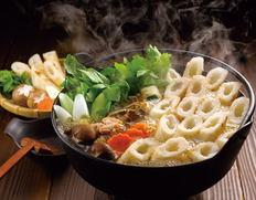秋田きりたんぽ鍋の画像