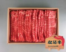 松阪牛しゃぶしゃぶ用バラ500gの画像