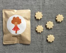 【メール便】卵・乳製品・小麦不使用のノングルテンクッキー あられ 7212の画像