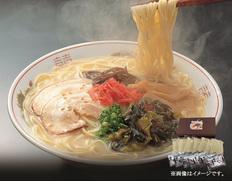 九州丸一 博多長浜ラーメン 6食入りの画像