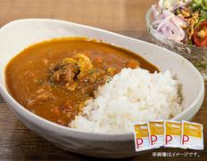 【メール便】焼豚屋のカレー4食セットの画像