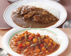 【メール便】新宿中村屋 プチカレービーフ&プチカレー彩り野菜と豆セット(計3袋)の画像