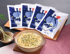 【山口県】割烹旅館「寿美礼」 監修 ふく雑炊スープの画像