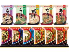 【メール便】アマノフーズ フリーズドライ 化学調味料 無添加・贅沢 おみそ汁 11種類11食セットの画像