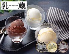 「乳蔵」北海道アイスクリーム3種11個(プレミアムセット)の画像