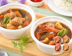 北海道スープカレーセットの画像