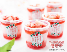 栃木県とちおとめ苺アイス12個の画像